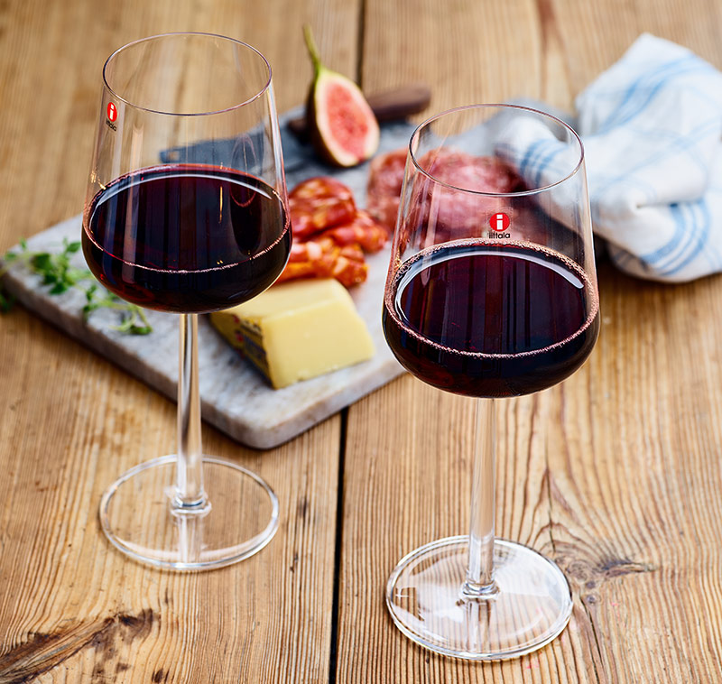 Essence red wine glasses 45 cl, 2 pcs