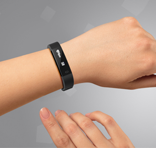 Hama Fitness Tracker Fit Track 1900
